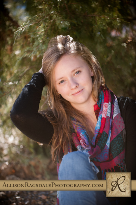 senior girl pic durango colorado