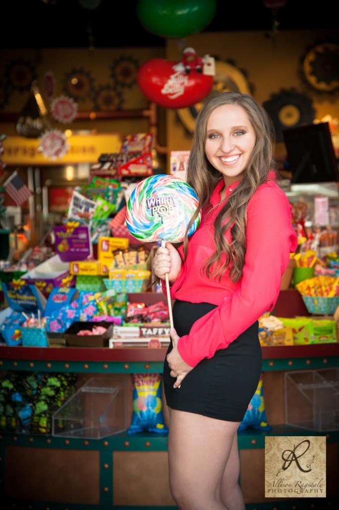 fuzziwigs candy store senior pic durango co