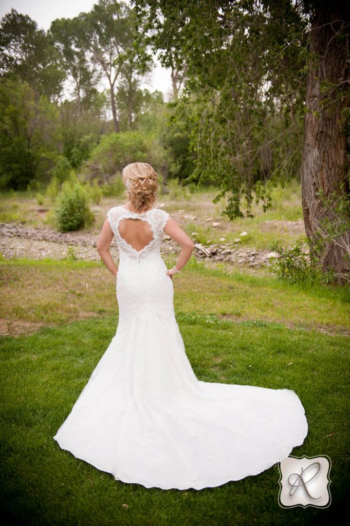 Durango Wedding Photo Bride