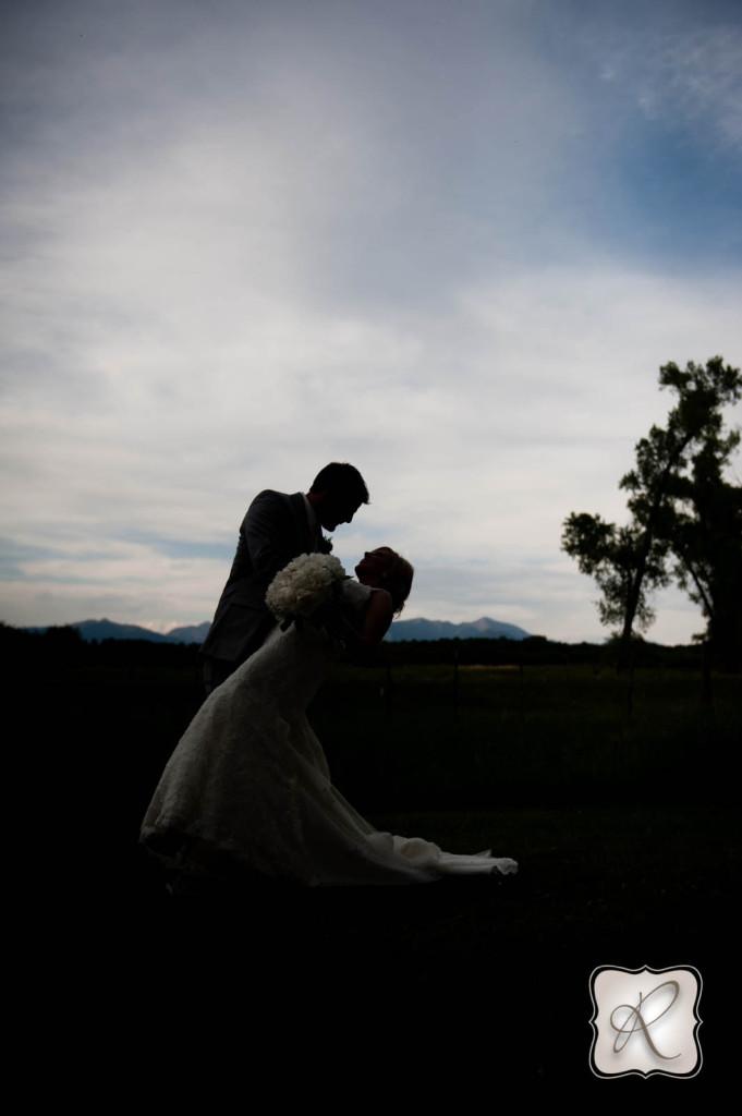 Wedding Portraits Durango Silhouette