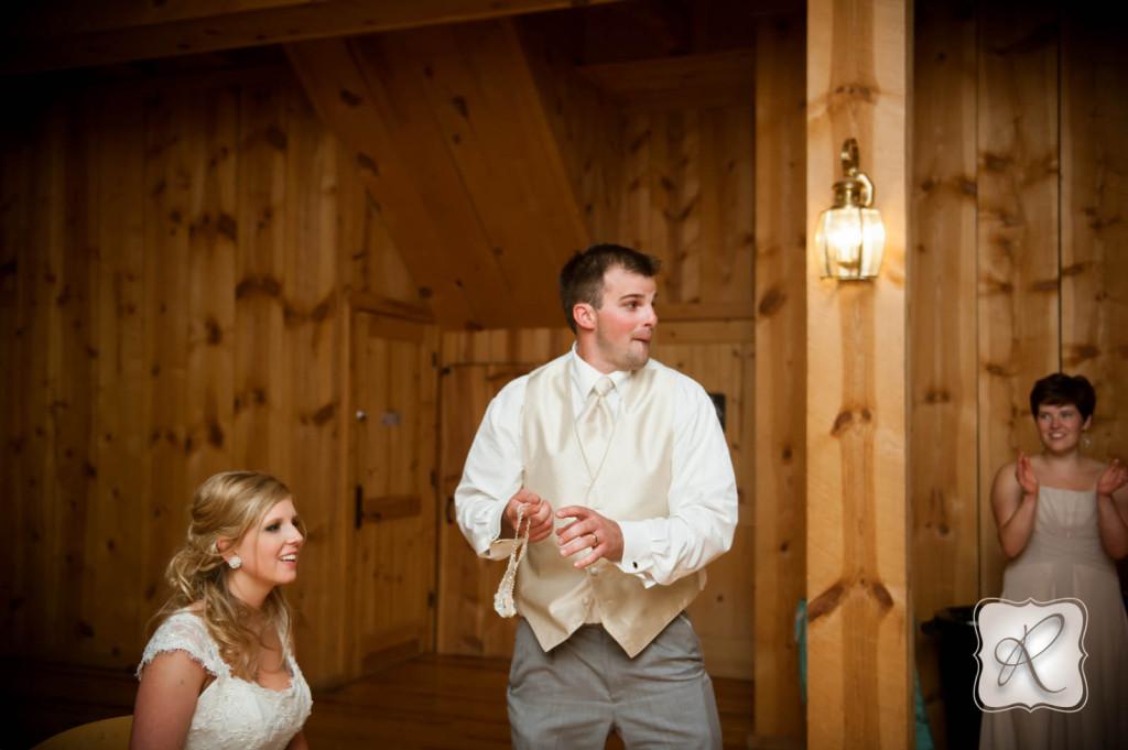 Durango Wedding Garter Toss