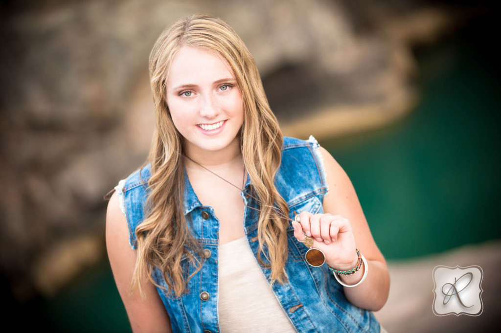 Durango CO Senior Pictures with profession hair and make up