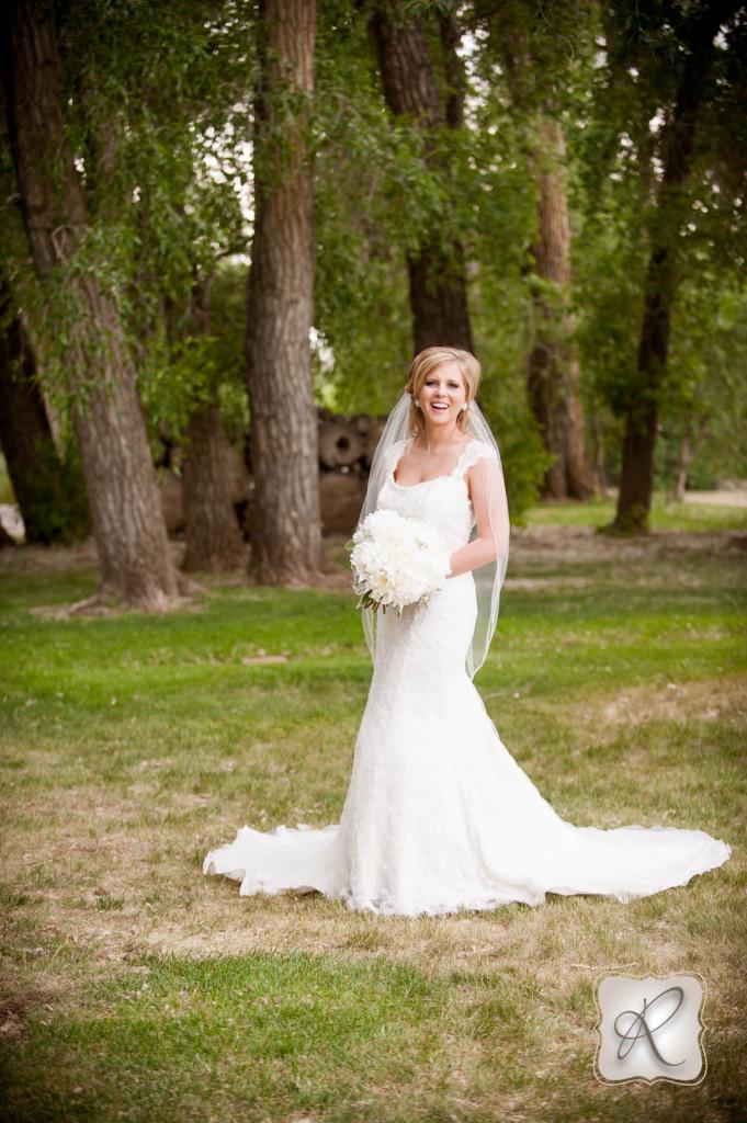 Bride Portraits Durango CO