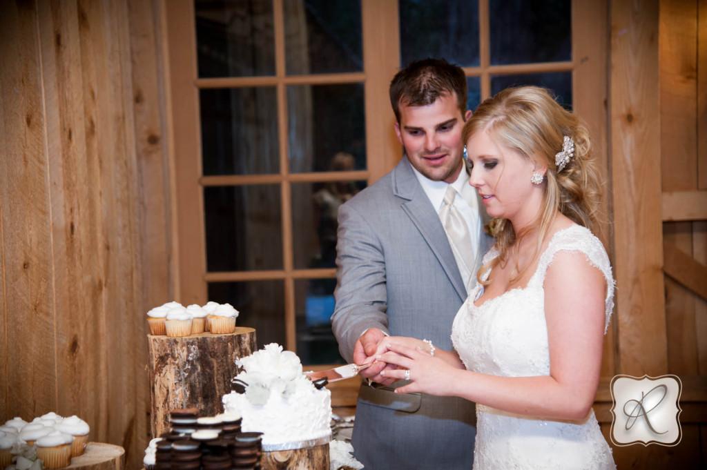 Durango CO Wedding Cutting the Cake
