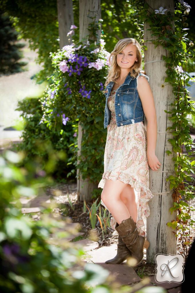 Cute Durango Senior Picture