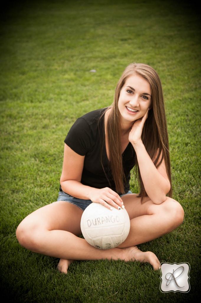 Bella's Senior Model Volleyball Session
