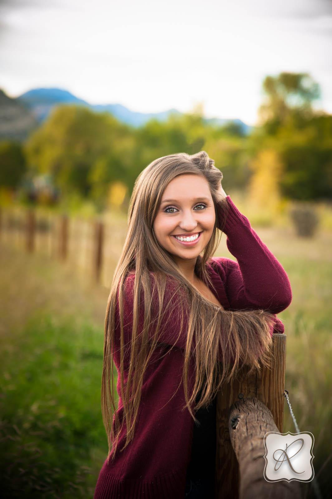 Mikayla S Senior Pictures In Durango Colorado Durango