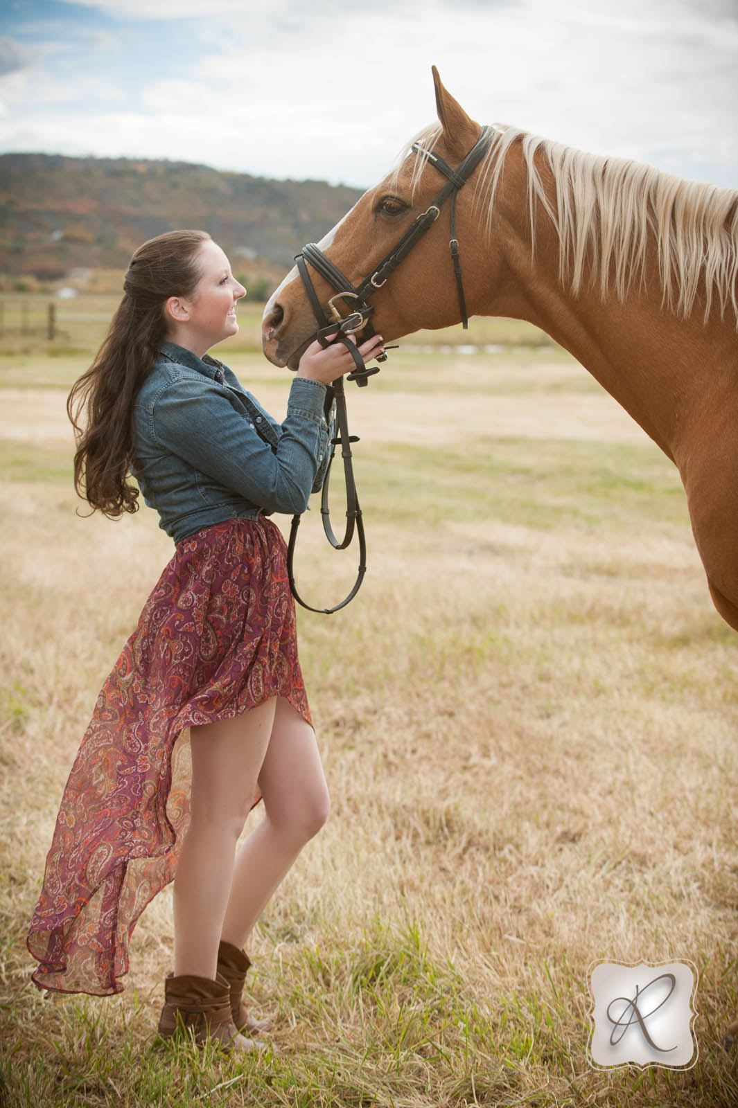 Emma's Senior Pictures With Her Horse