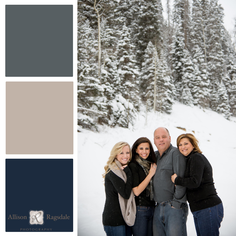 Family Portrait Color Palettes
