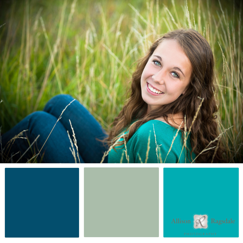Senior Portrait Color Palettes