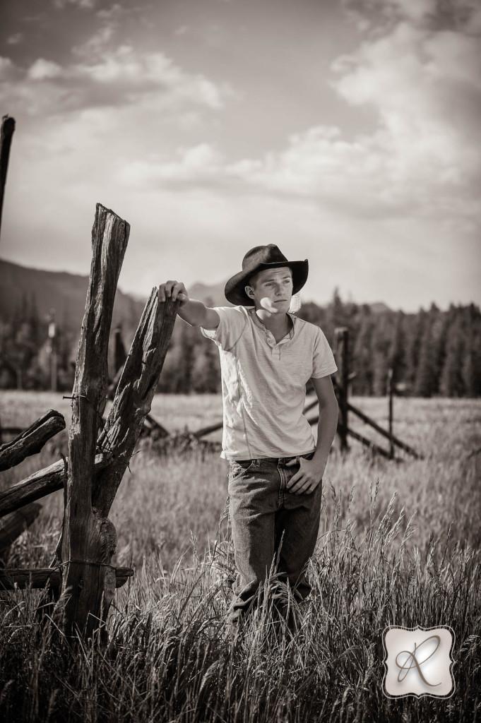 Cowboy Senior Pics