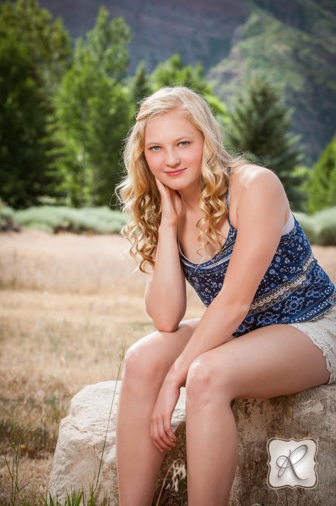 Caroline Tidwell Class of 2015 Senior Durango Colorado