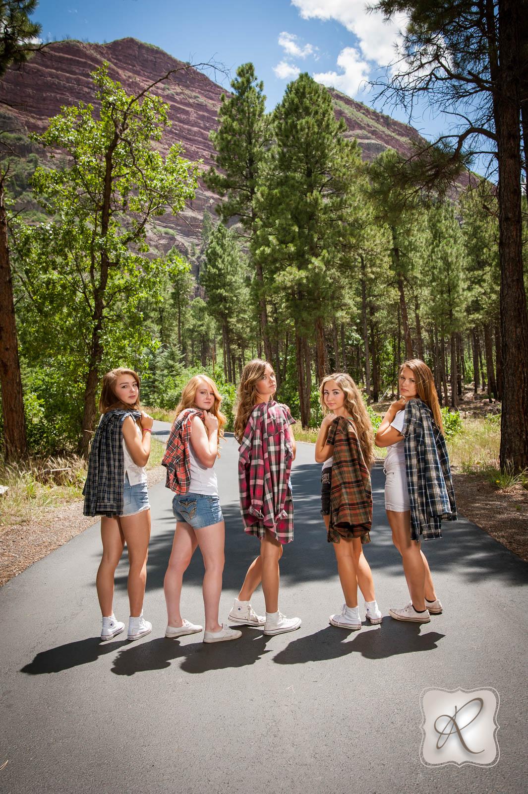 Senior Model Friend Photoshoot In Durango