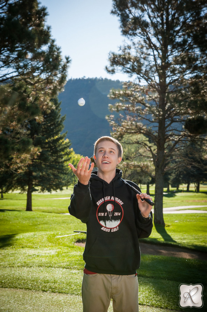 Senior Pictures for Golfers