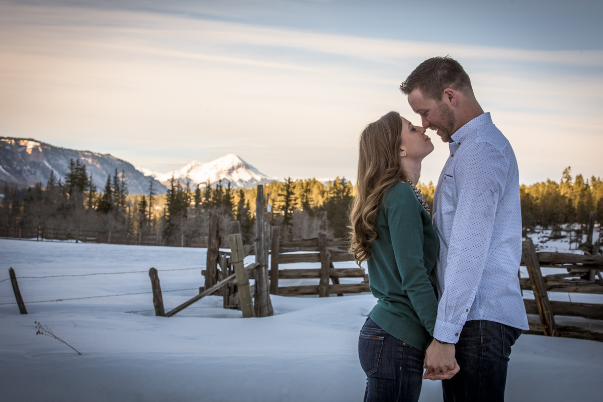 Winter Engagement Portraits