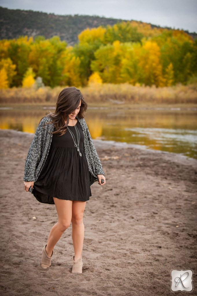 Fall color senior pictures