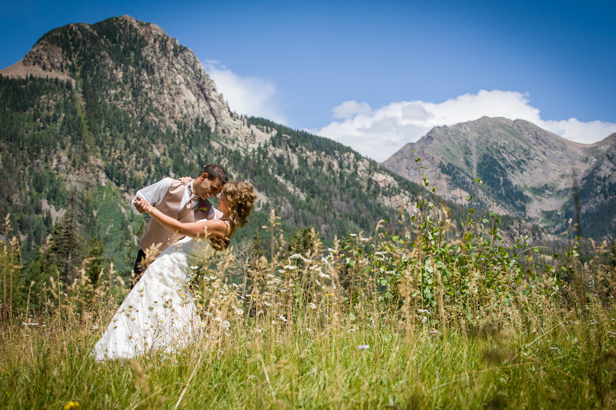 Mountain Wedding Portraits