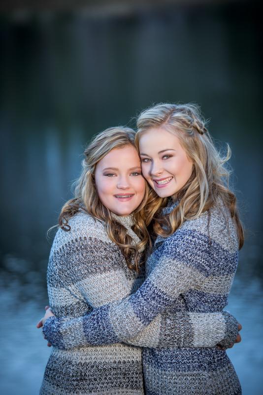 Portraits of Sister and Family Durango Colorado