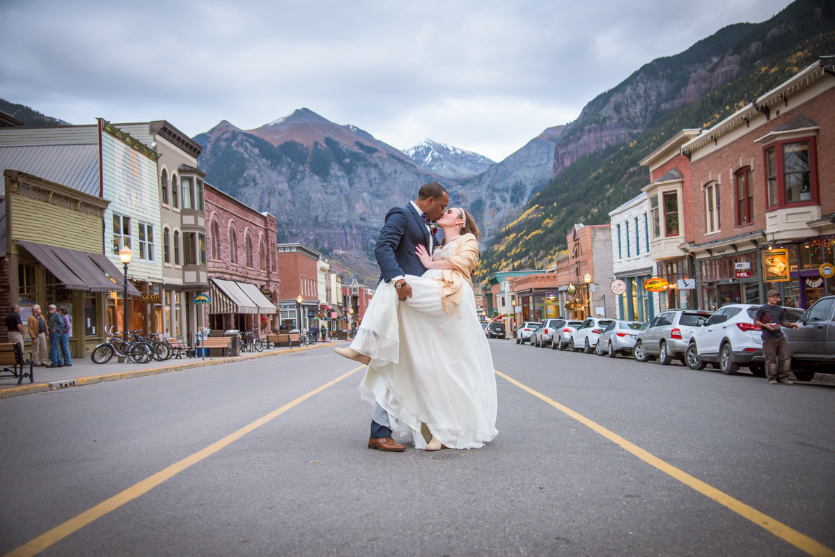 Telluride Wedding Portraits