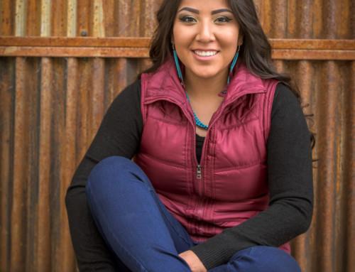 Darien's Senior Pictures for Navajo Prep