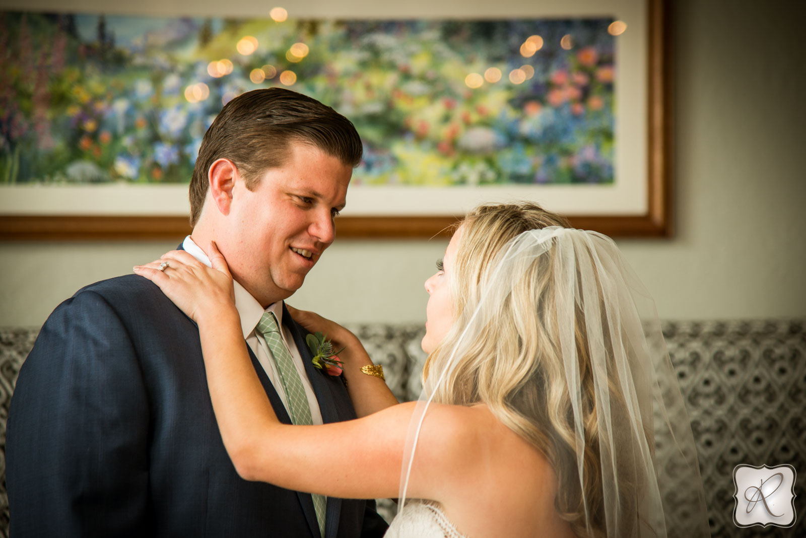 First Look Durango Colorado Wedding