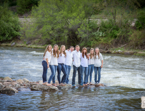 Friend Sessions of Seniors at Durango High School