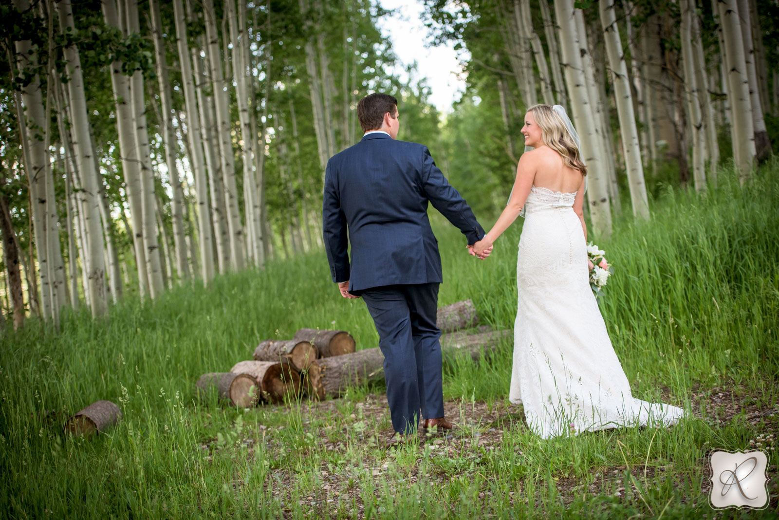 Wedding in Durango Colorado at Silver Pick