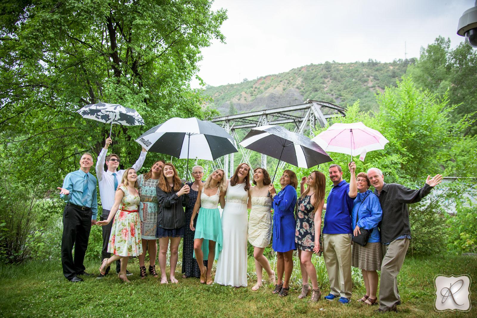 Durango Colorado - umbrellas
