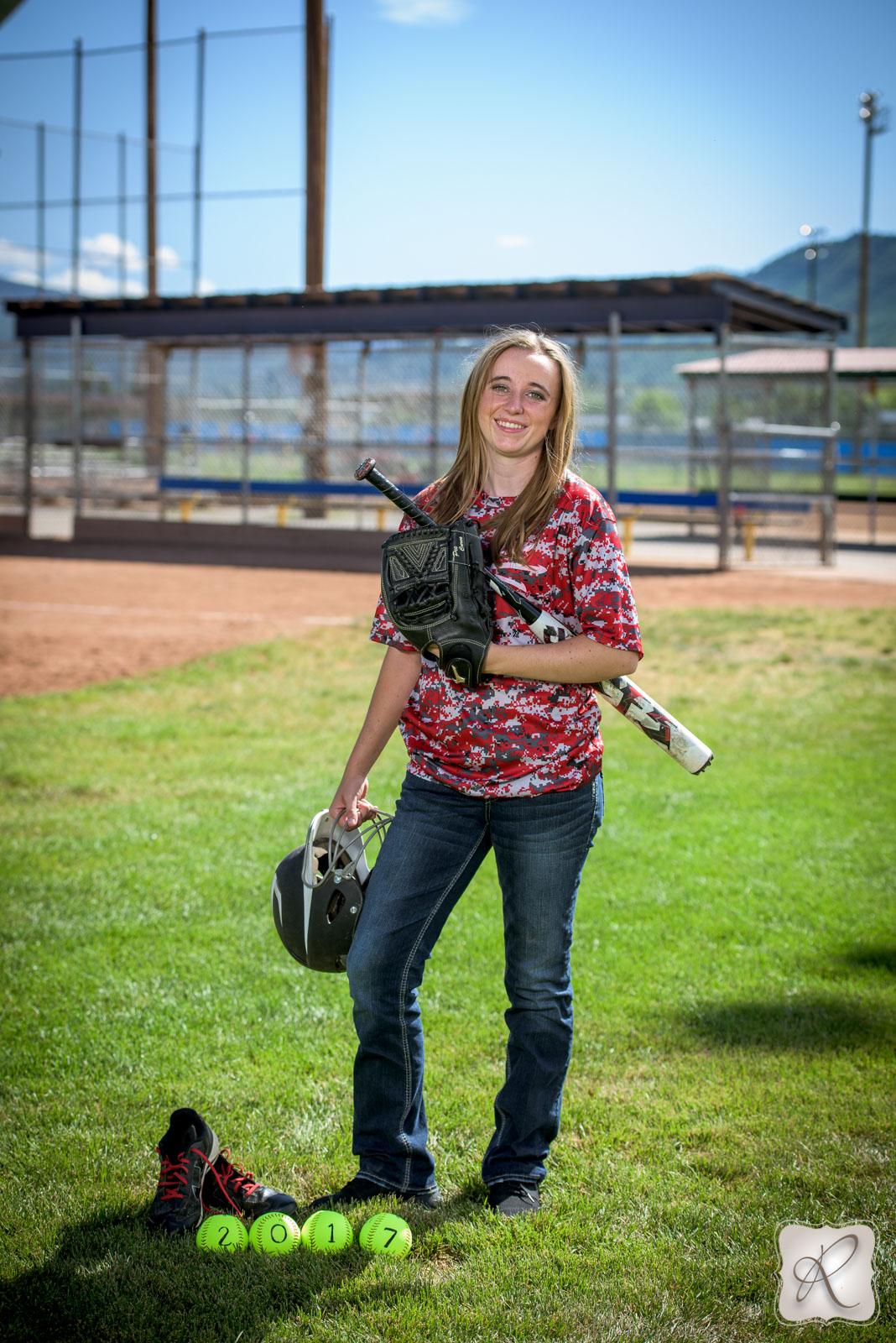 Katrina Senior pictures Durango Colorado sports