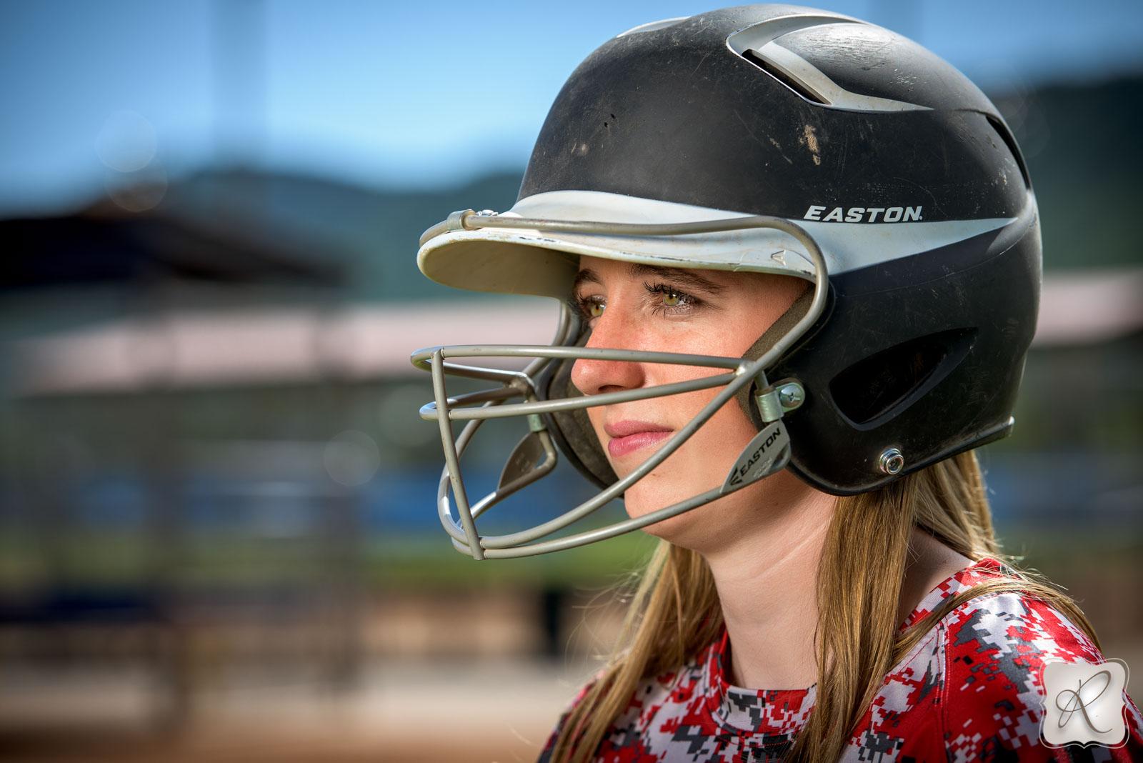 Durango Colorado Senior pictures - helmet