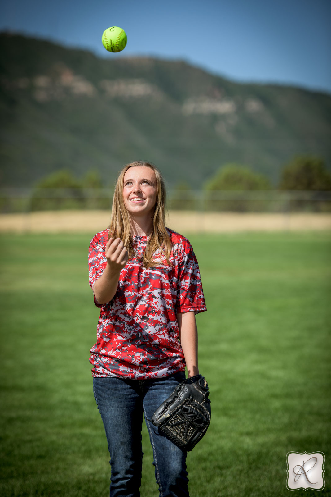 Katrina Chandler's senior pictures Durango Colorado - sports