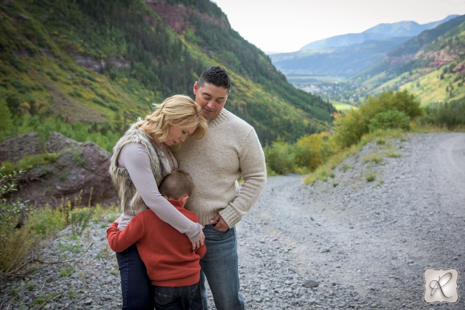Family Pictures in Telluride Colorado