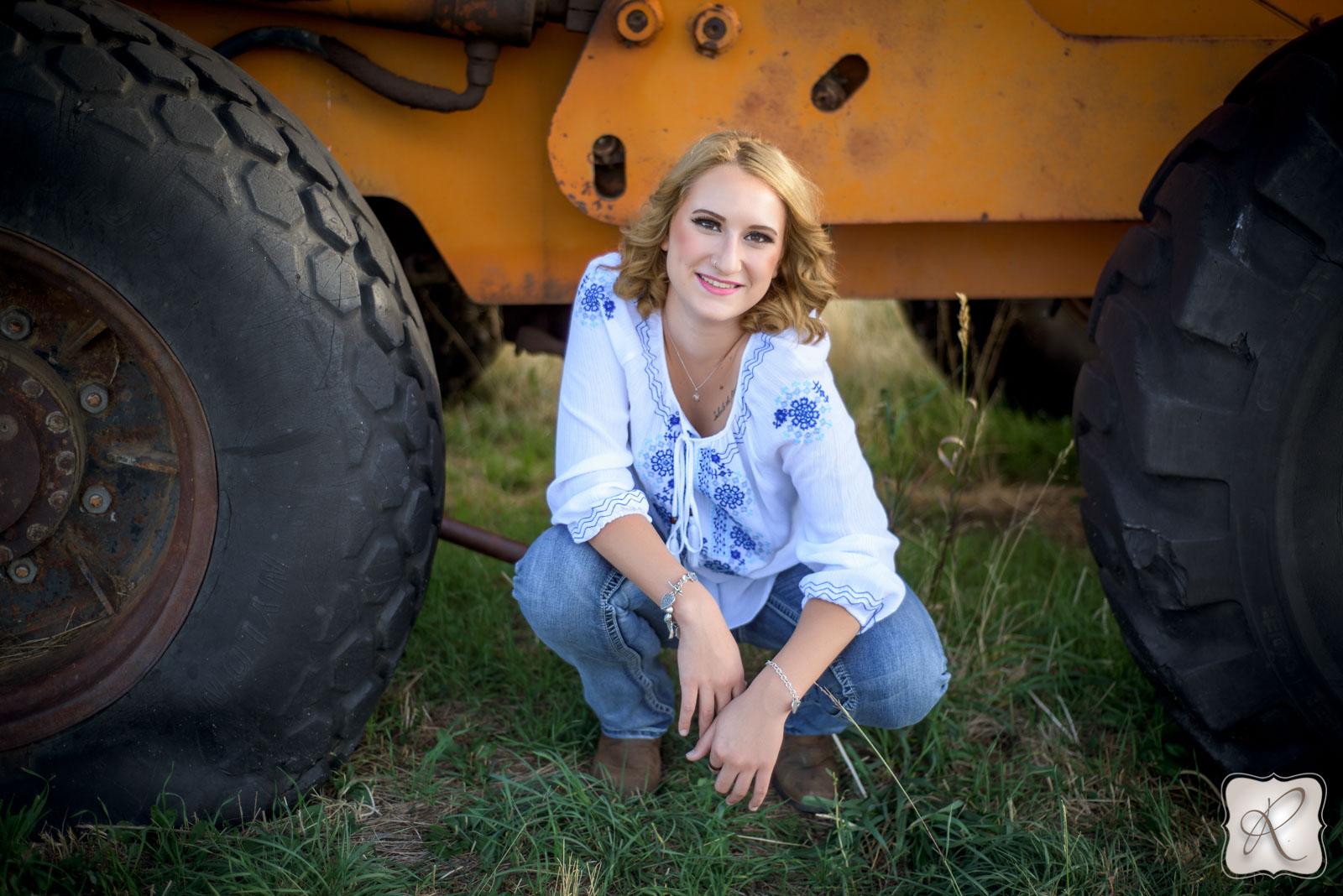 Farm Senior Pictures