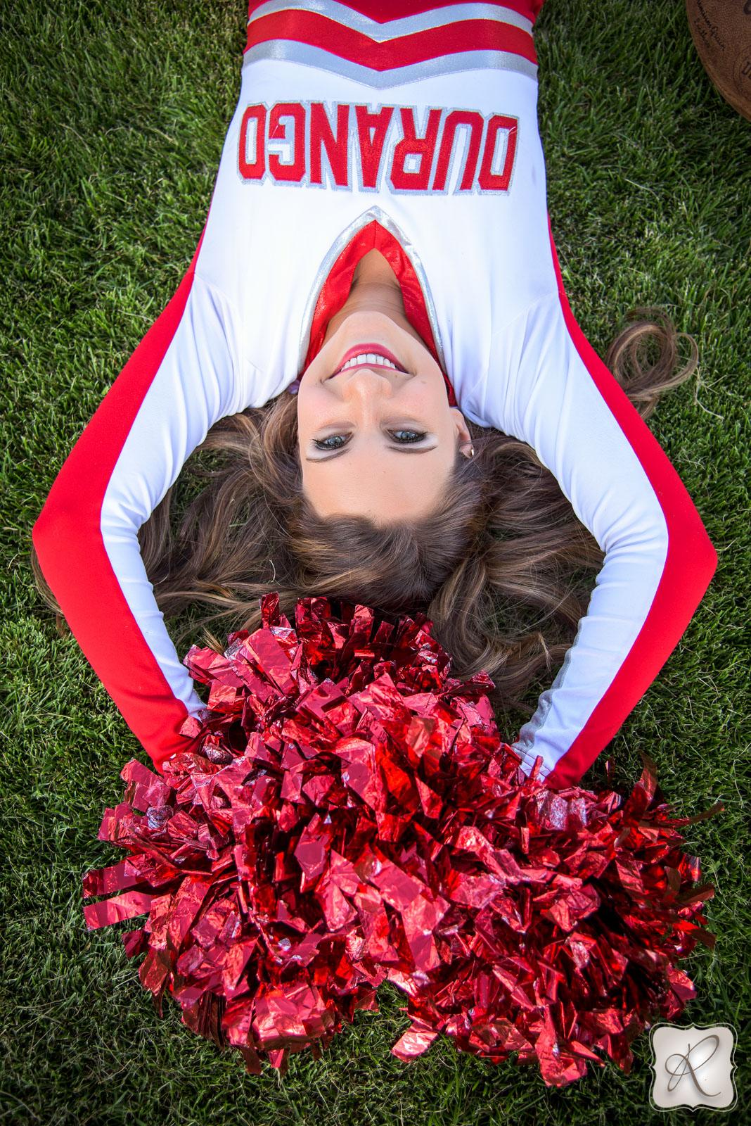 Cheer Senior Pictures