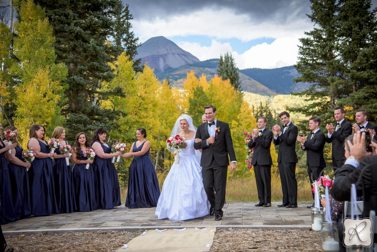 Fall wedding portriats