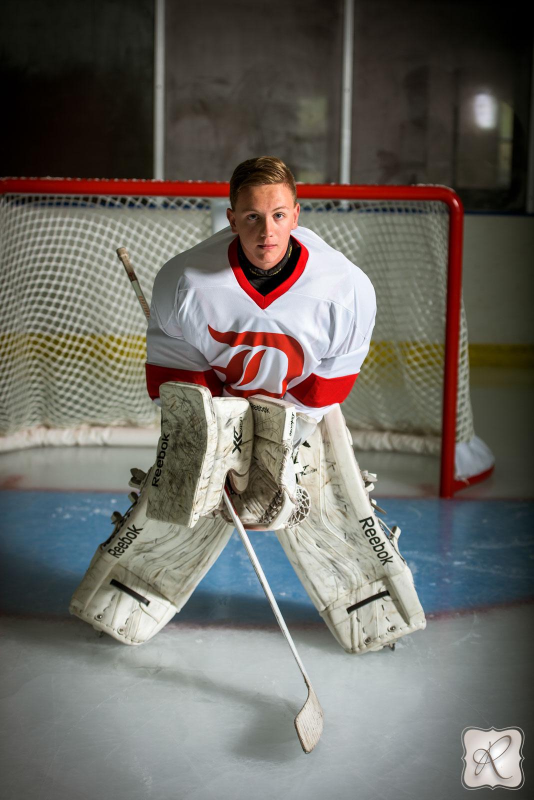 Hockey Senior Pictures