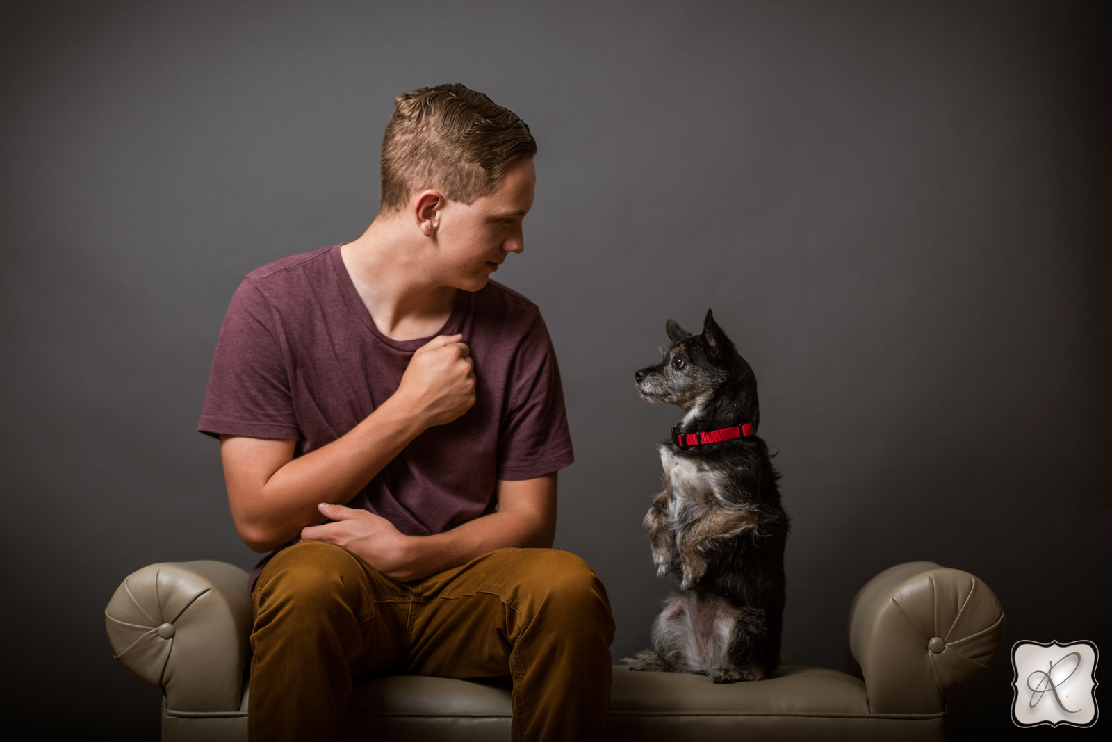 Senior Pictures with Dogs