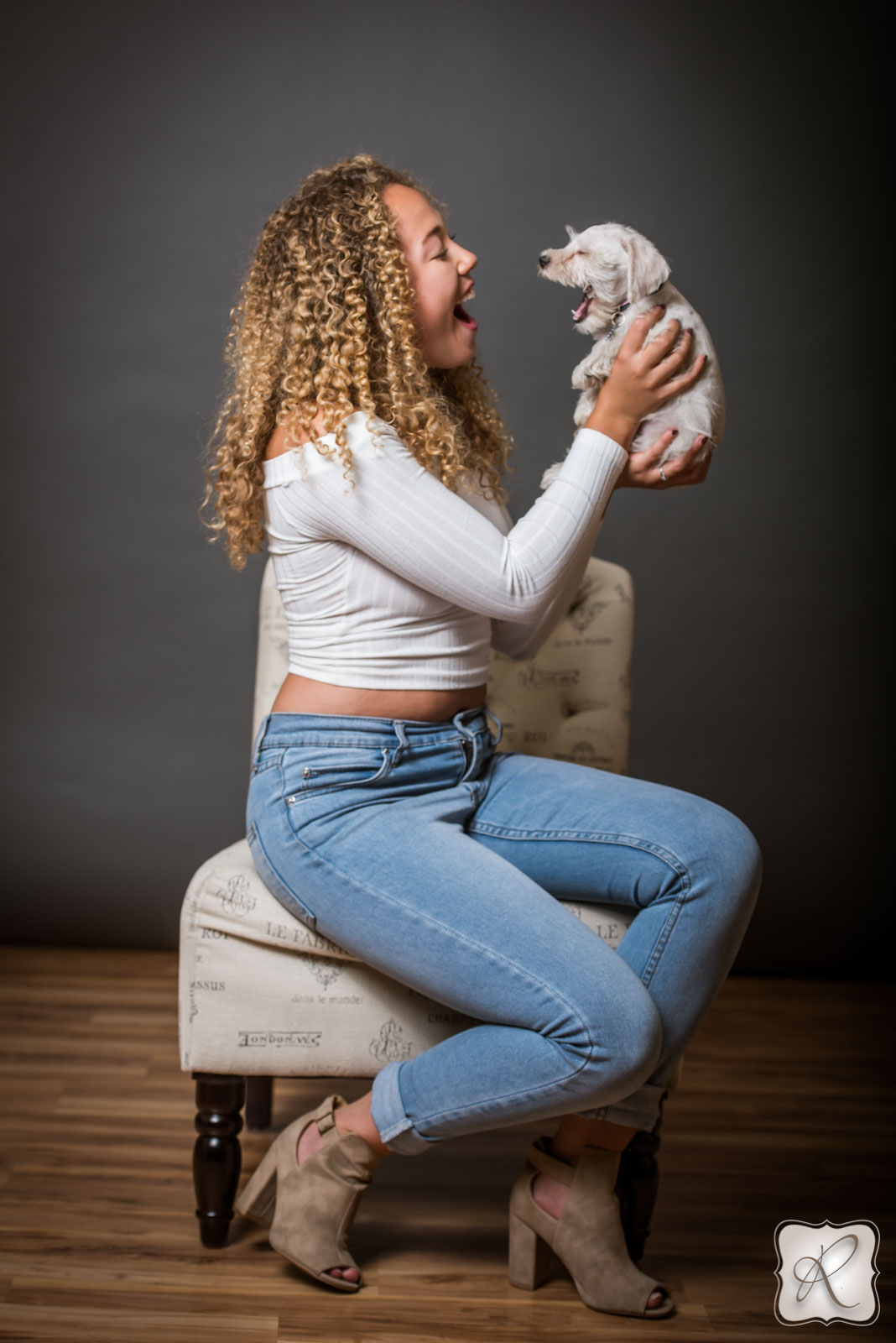 Portraits with Family Pet