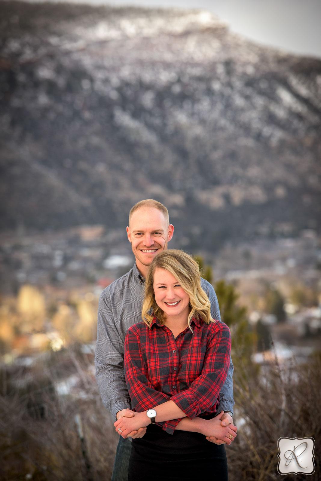 Winter Couple Portraits