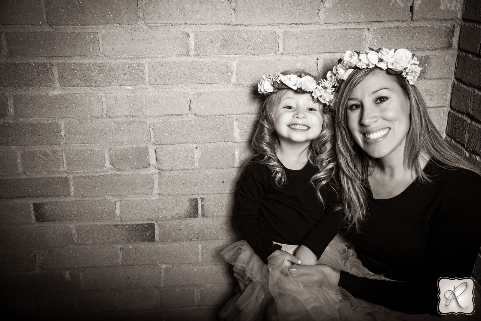 Fun Mother Daughter Portraits