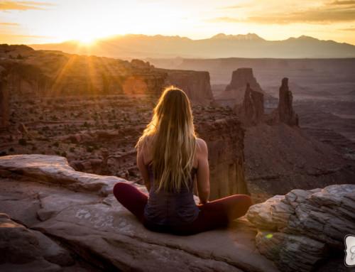 Moab Yoga Shoot