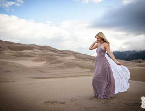 Brianna Brown at the Sand Dunes