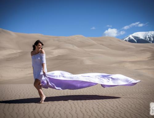 Sydney Gabbard at the Sand Dunes