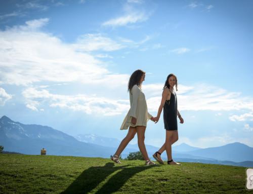 Amina and Natalie in Telluride Colorado