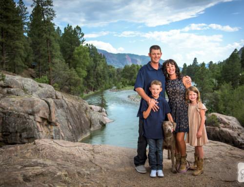 Peterson Family Portraits Durango Colorado