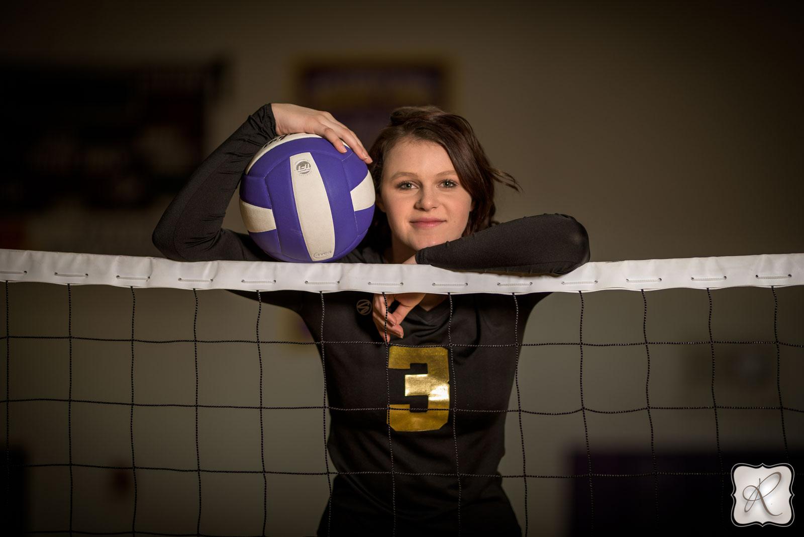 Volleyball Senior Portraits
