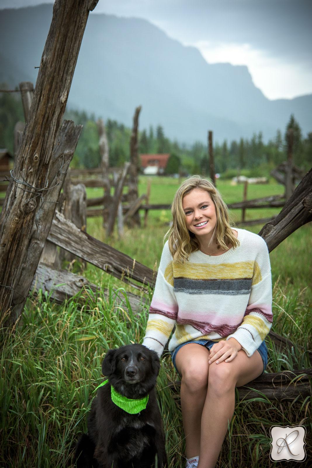 Mountain Senior Portraits Durango
