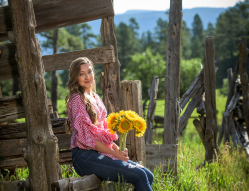 Allison Lamm's Durango Colorado Senior Portraits