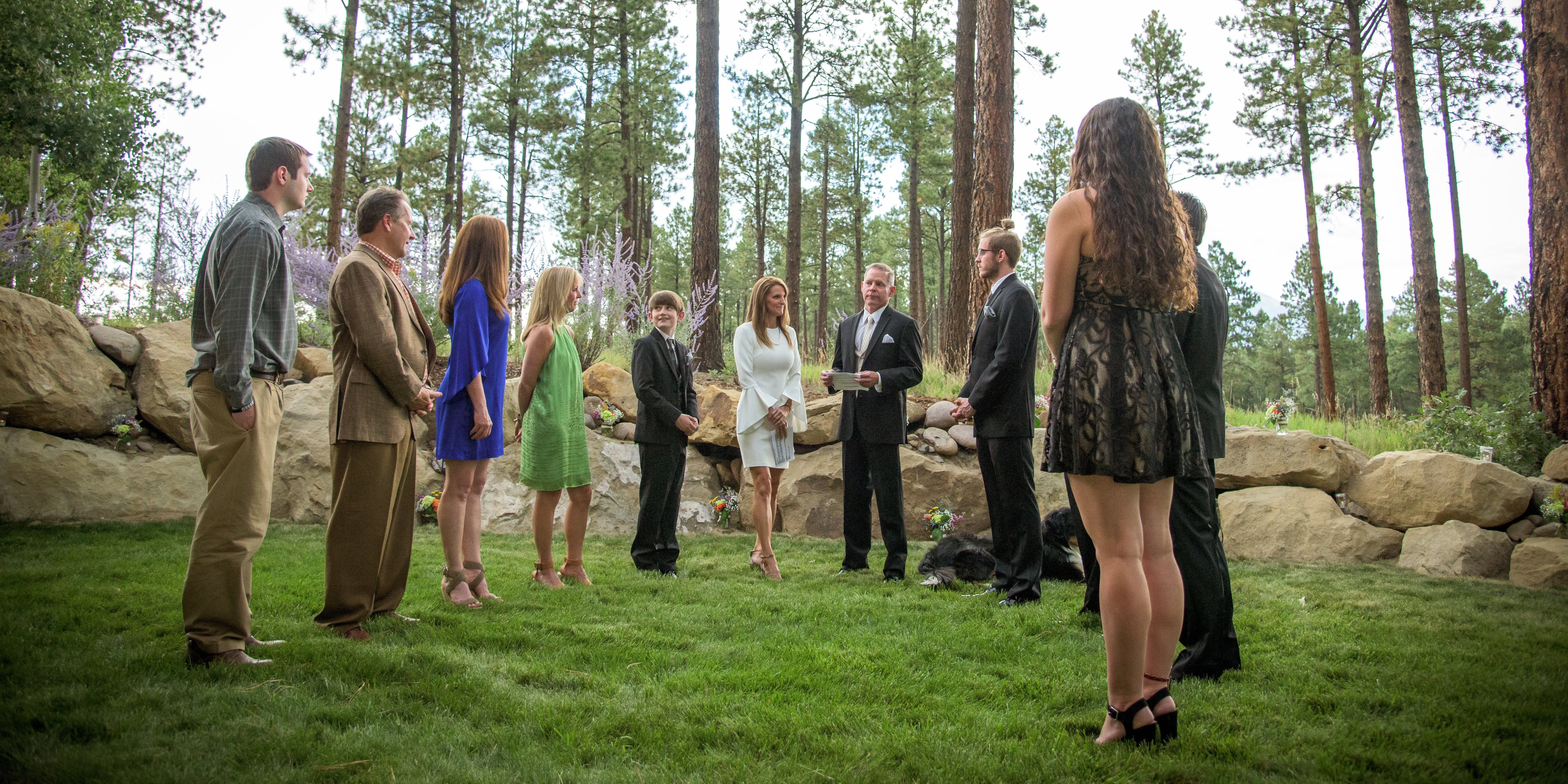 Durango Colorado Wedding Photographed by Allison Ragsdale Photography, Durango Professional Photographer. Colorado forest weddings.
