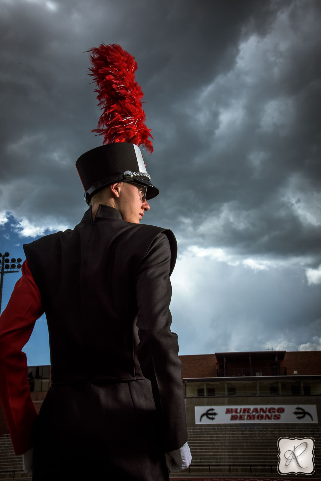 Marching Band Drum Major Portraits